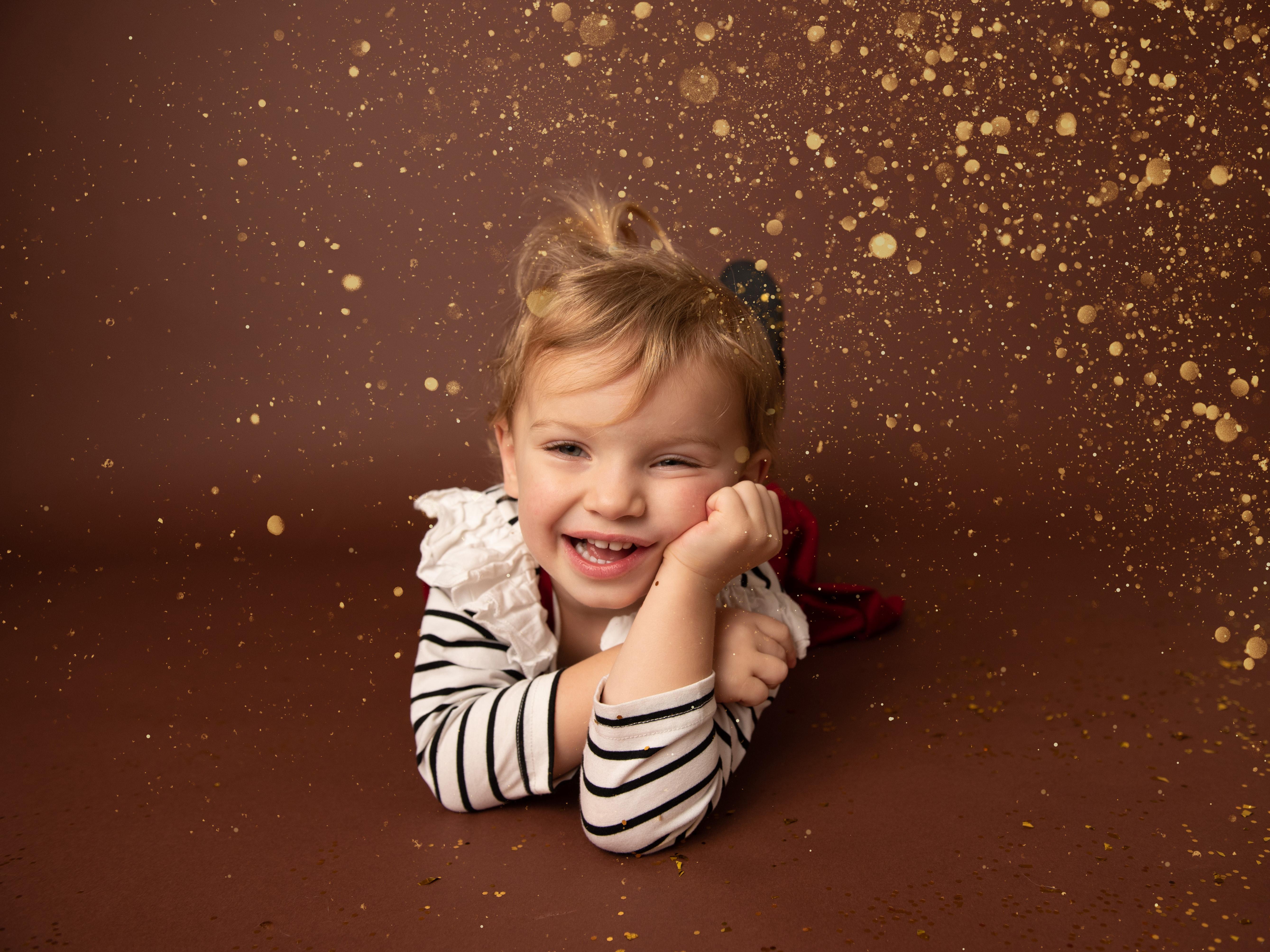 grand rapids child photography glitter shoot