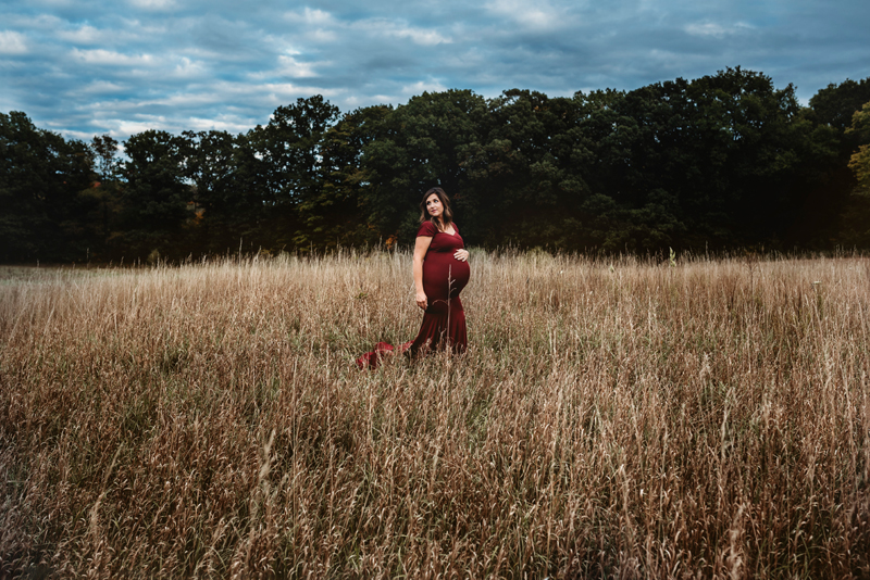 grand rapids michigan outdoor maternity photographer