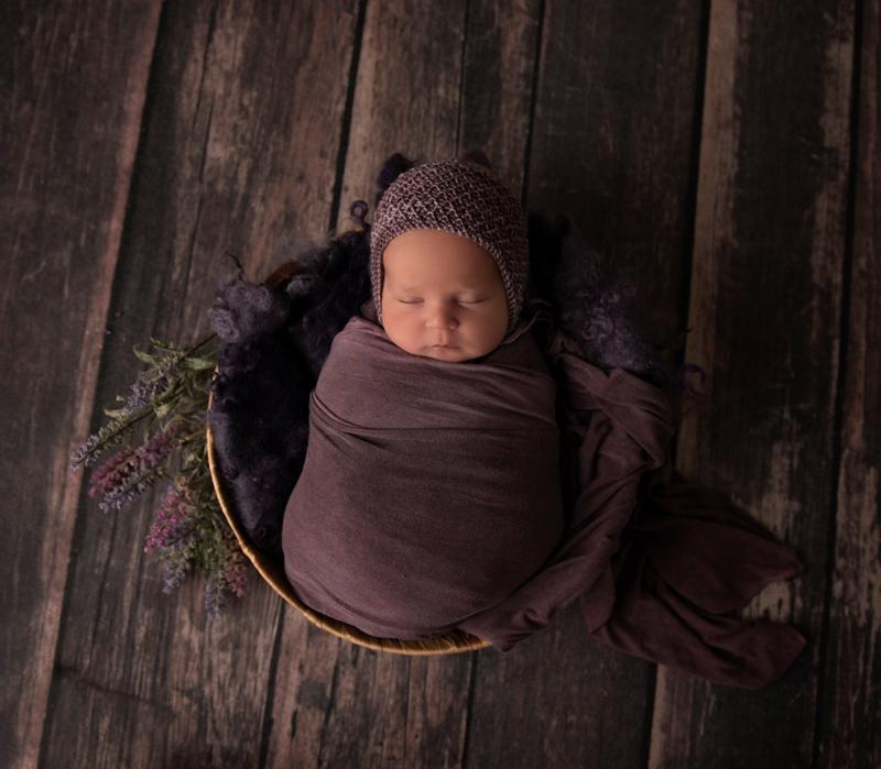 sleeping newborn photography shoot grand rapids mi