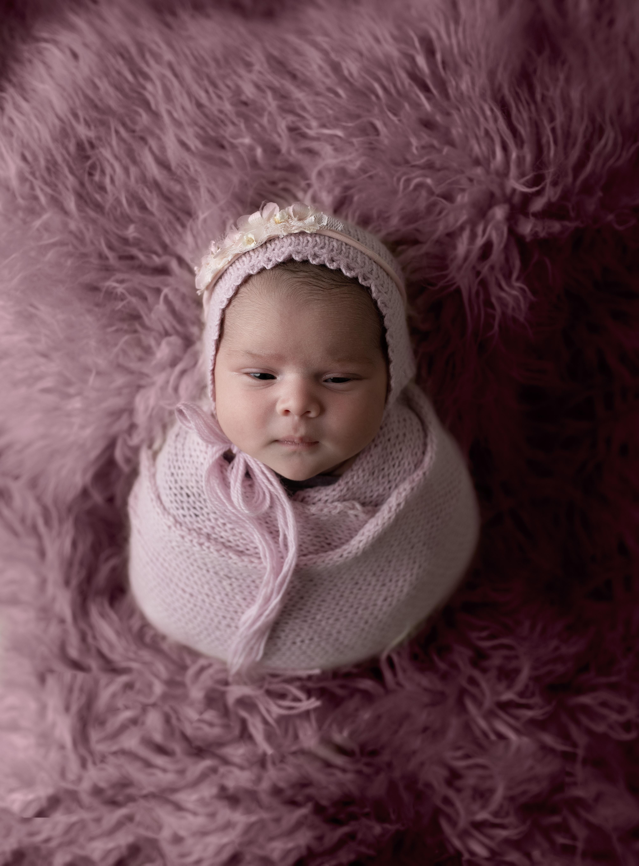 grand rapids michigan newborn photography baby sleeping